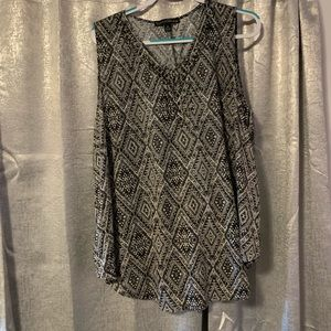 French Laundry Tank Blouse